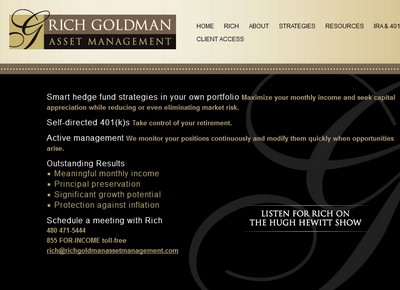 Rich Goldman asset mgmt